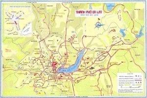 Bản đồ du lịch Đà Lạt offline